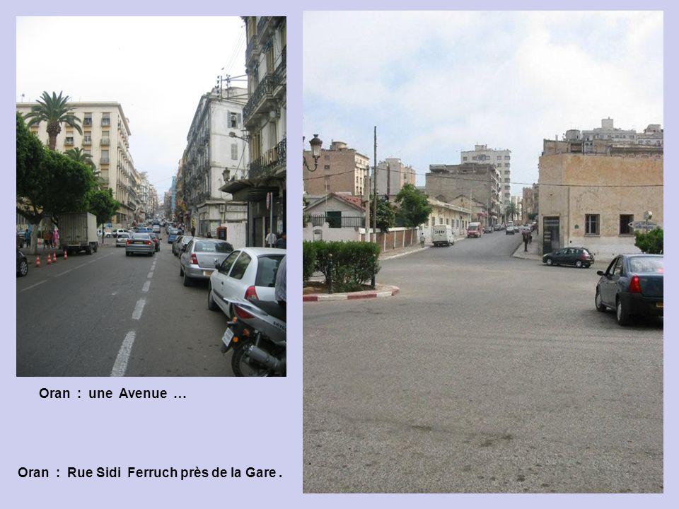 Oran : un quartier …