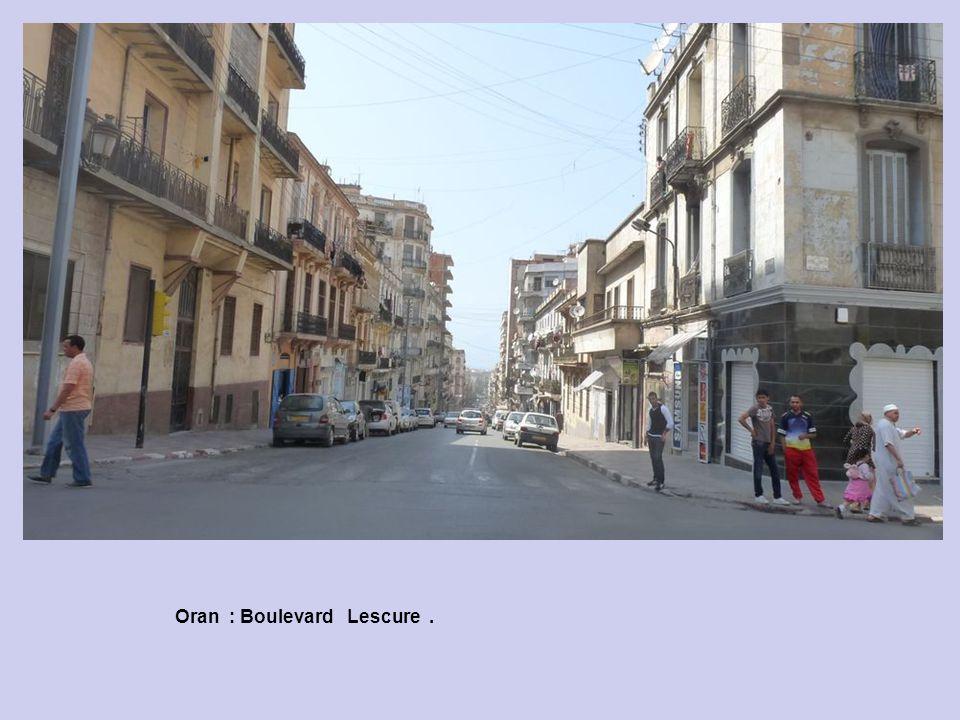 Oran : Boulevard Lescure.