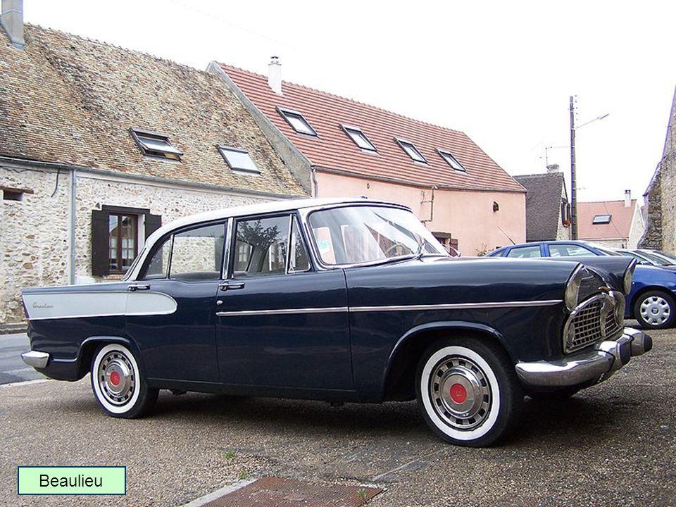 1957 : Nouvelle gamme Vedette Beaulieu Chambord Présidence Break Marly