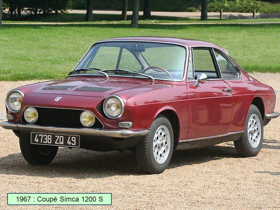 1966 : Simca GG