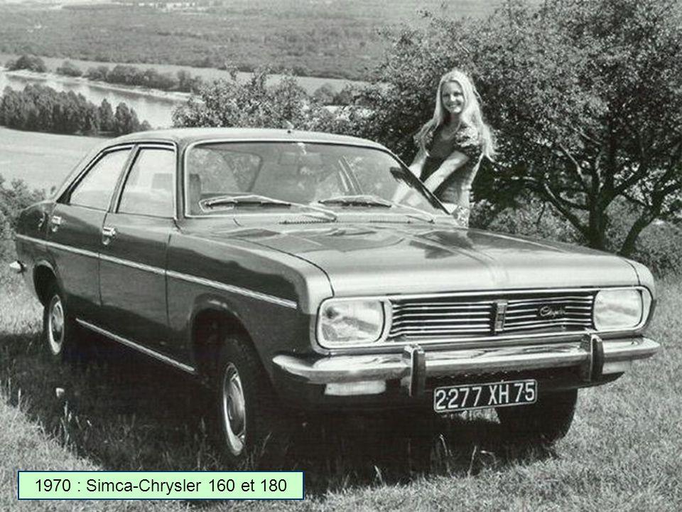 1967 : Simca 1100