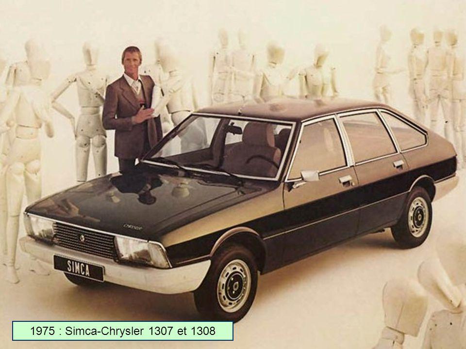 1973 : Matra-Simca Bagheera