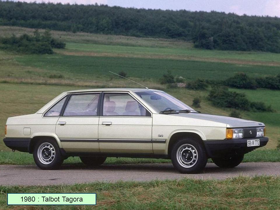 1980 : Talbot Solara