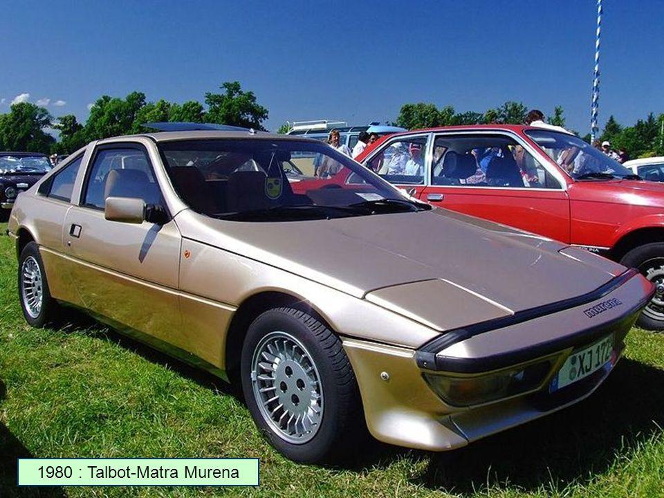 1980 : Talbot Tagora