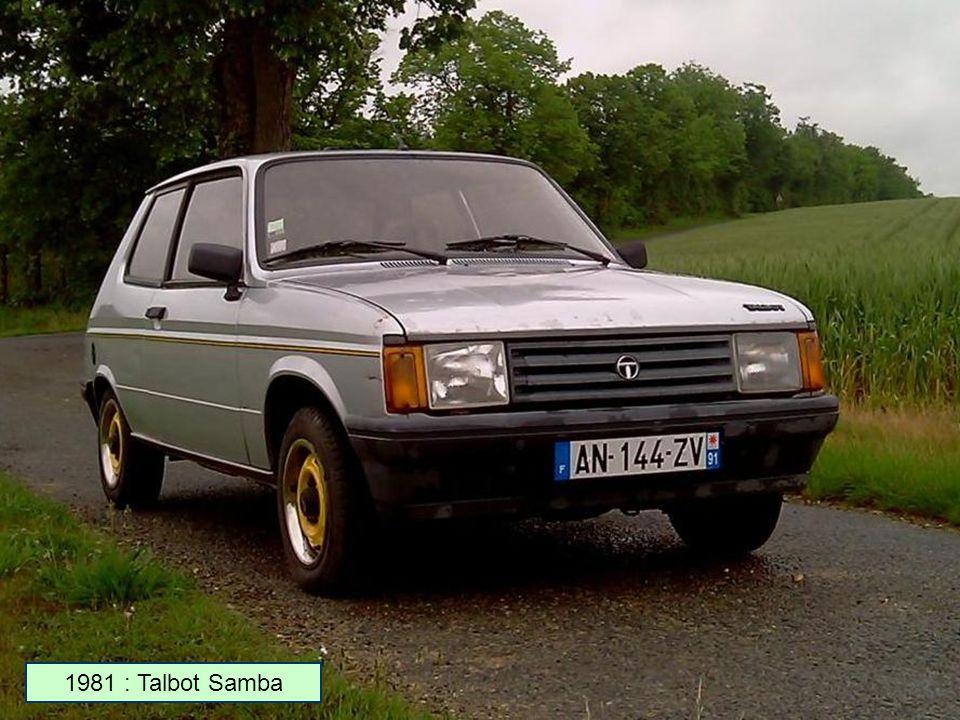1980 : Talbot-Matra Murena