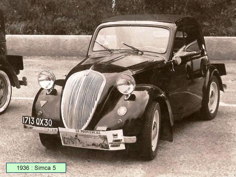 1936 : Simca 5