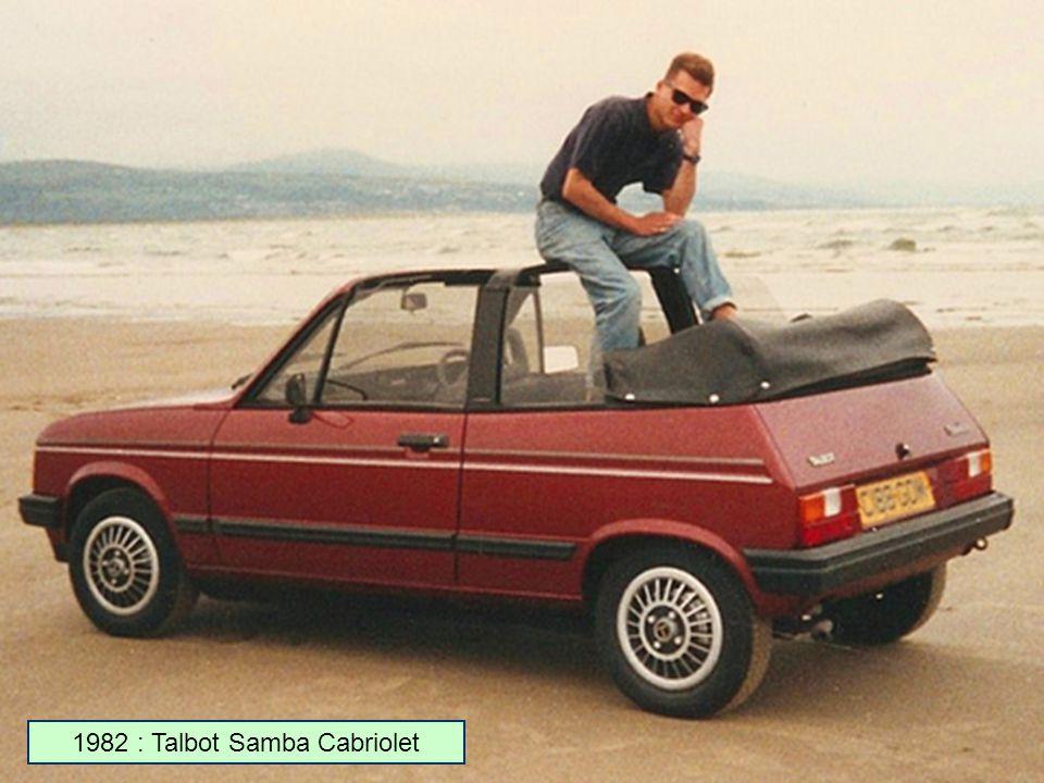 1981 : Talbot Samba