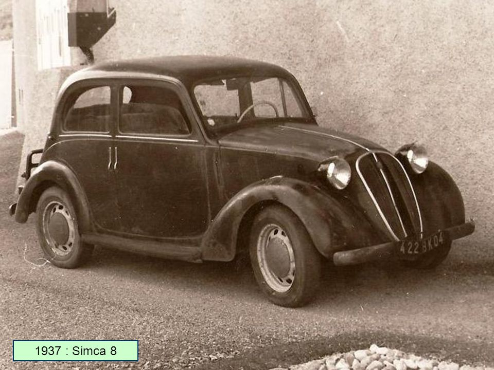 1961 : Simca 1000