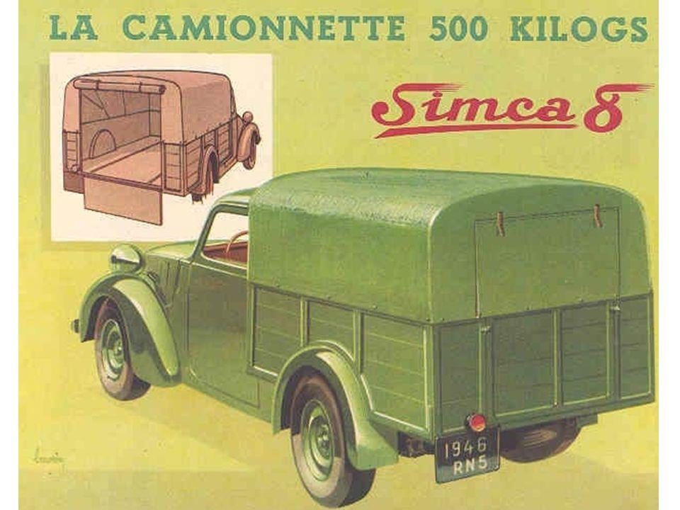 1937 : Simca 8