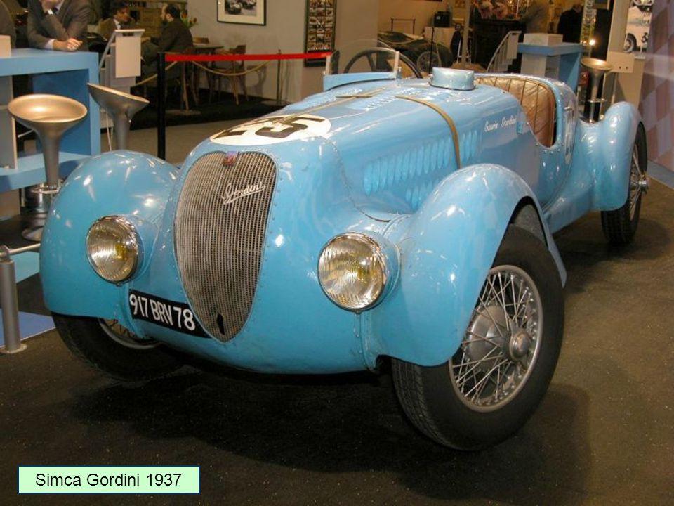 Simca Gordini 1937