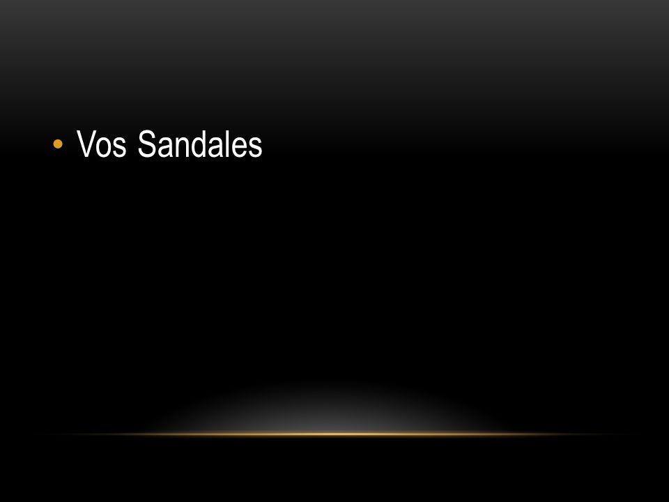 Vos Sandales