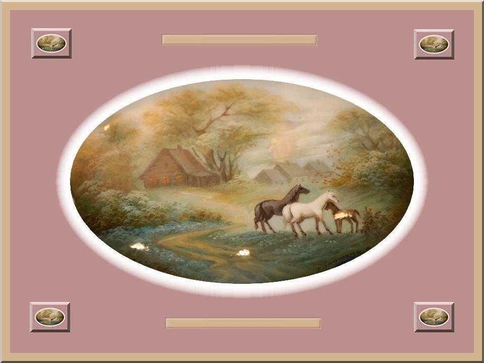 Les thèmes des contes de Pouchkine tiennent une grande place dans l'art de la miniature laquée. Les chefs-d'œuvre tels que