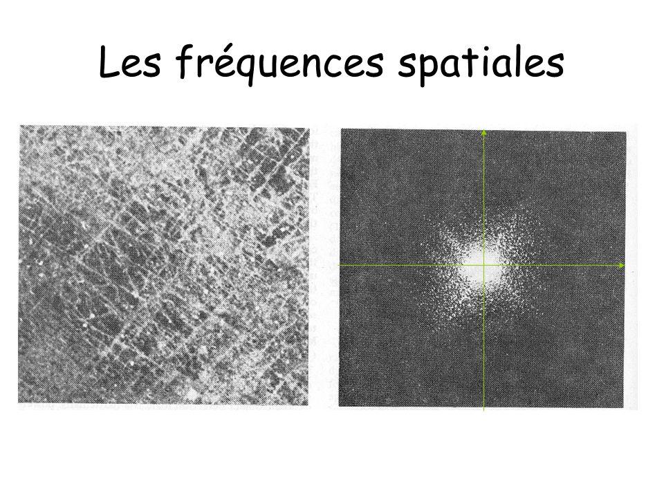 Catégories Filtres dans le domaine spatial Filtres dans un autre domaine que le spatial (ex.