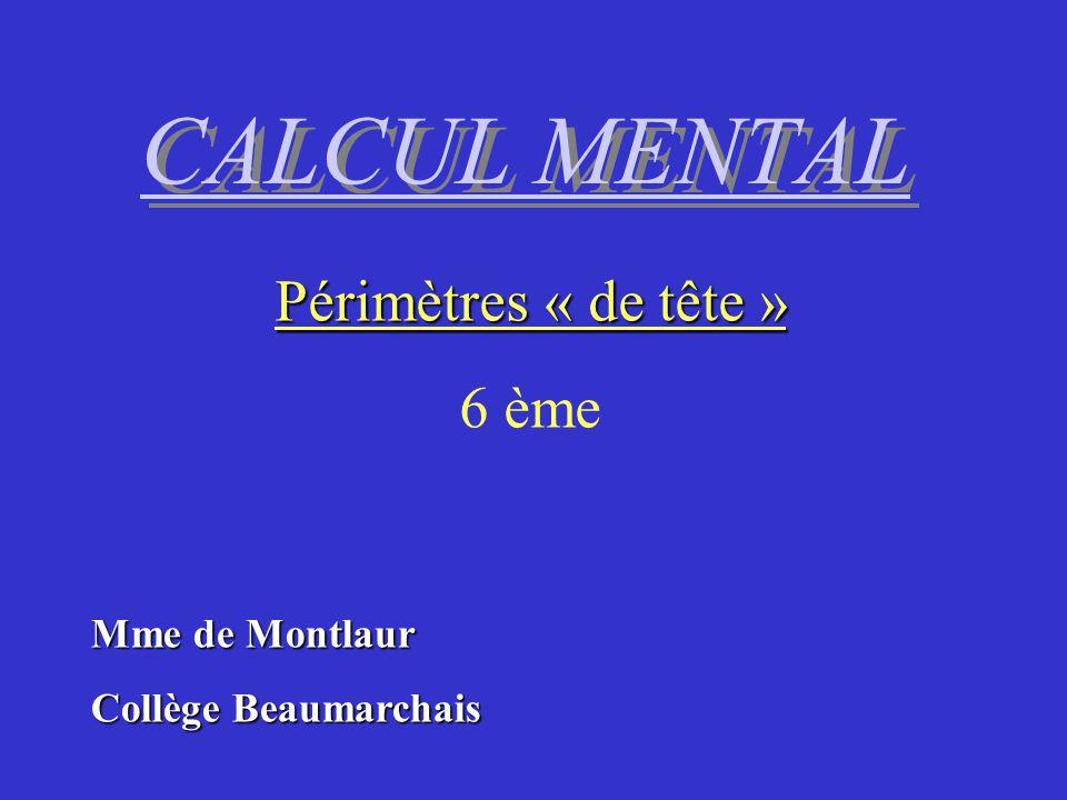 Vérifiez Ligne 2 Calcul 2 Quel est le périmètre dun rectangle de longueur 9 cm et de largeur 5 cm .