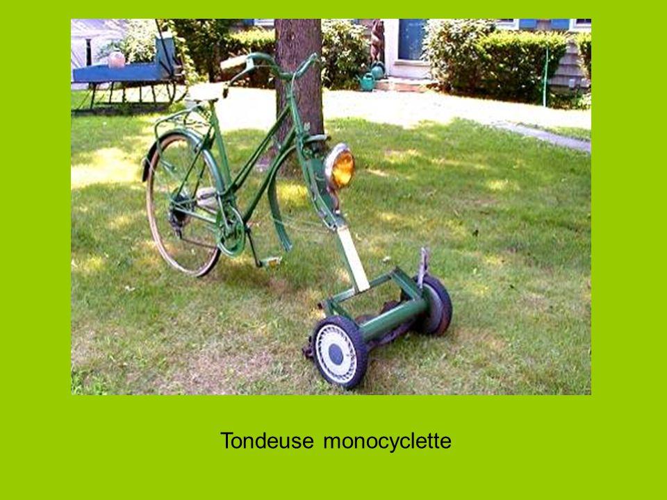 Tondeuse monocyclette