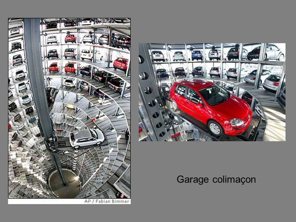 Garage colimaçon