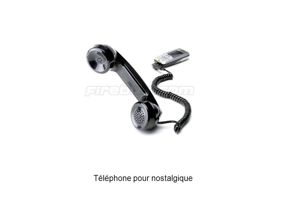 Téléphone pour nostalgique