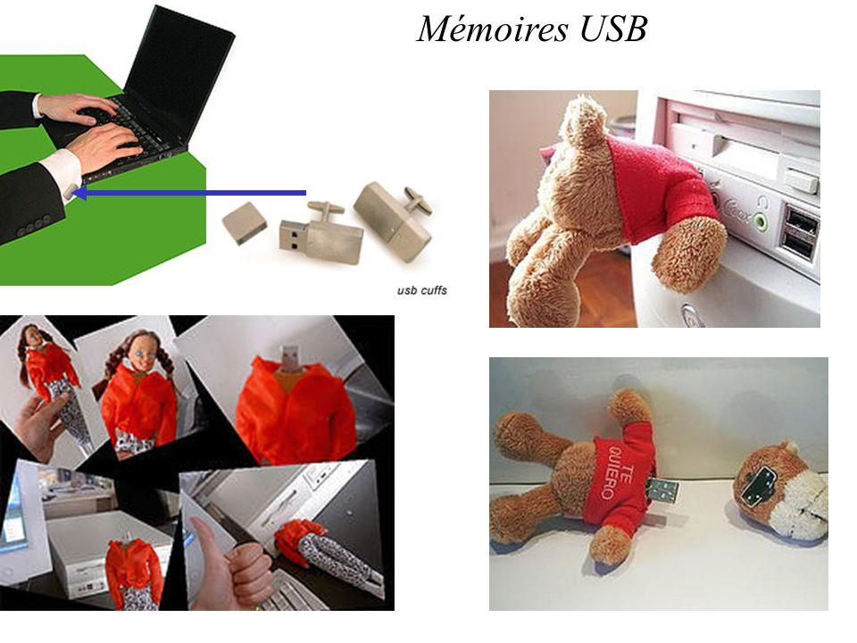 Mémoires USB
