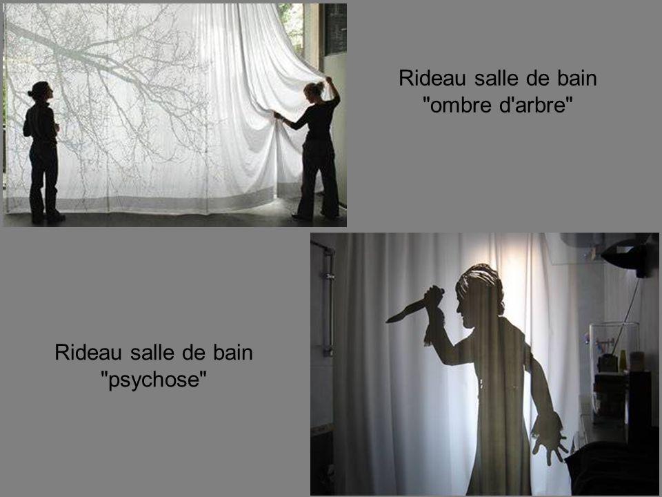 Rideau salle de bain ombre d arbre Rideau salle de bain psychose