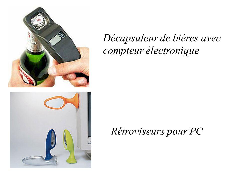 Décapsuleur de bières avec compteur électronique Rétroviseurs pour PC