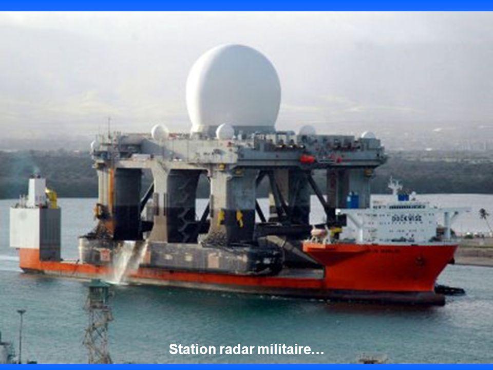 Station radar militaire…