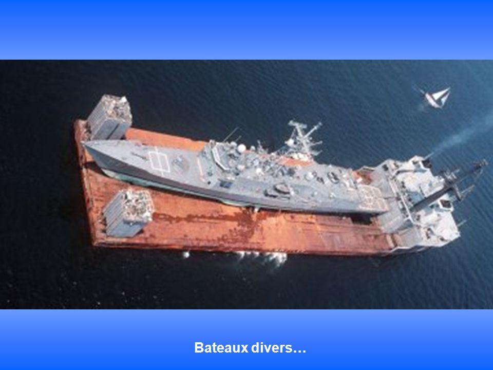 Bateaux divers…