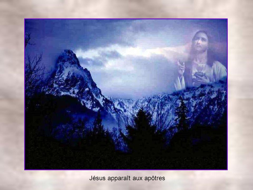 Jésus apparaît aux apôtres