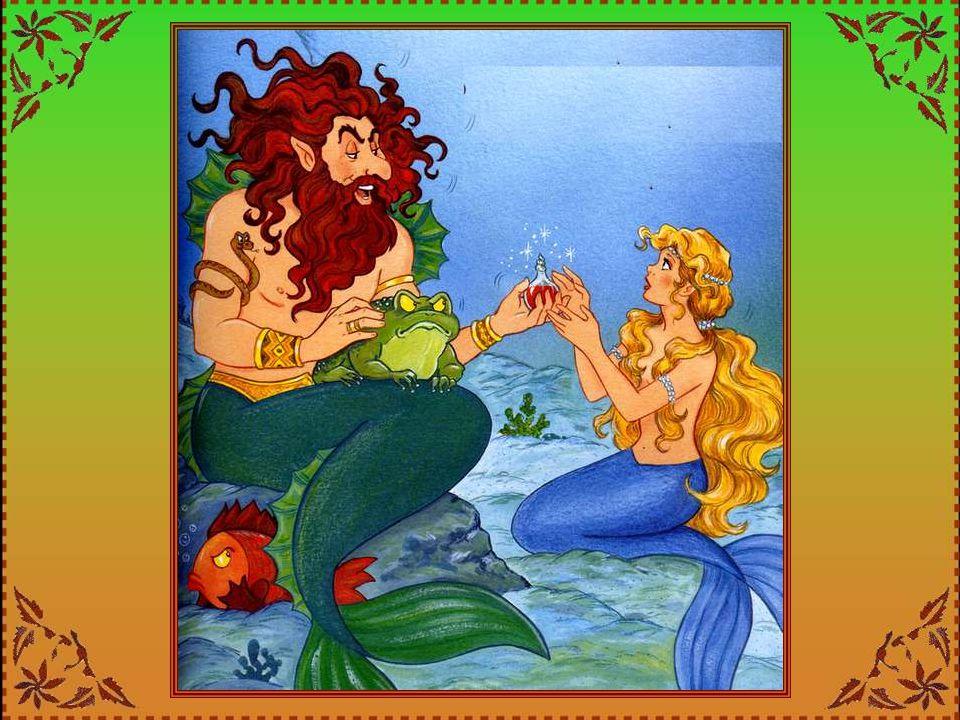 La romantique Sirella sait donc deux choses : le naufragé est un prince, et il est sauvé ! Elle plonge au fond des océans. Mais comment, oh ! Comment