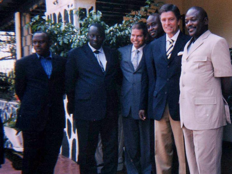 Photo avec president Burundi 11