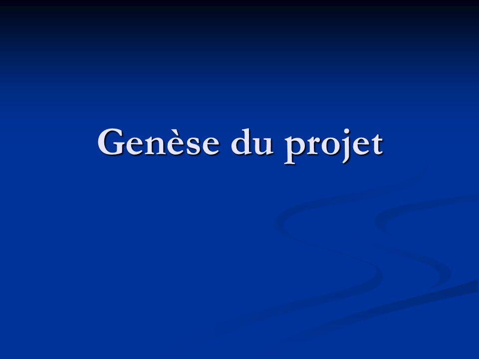 Genèse du projet