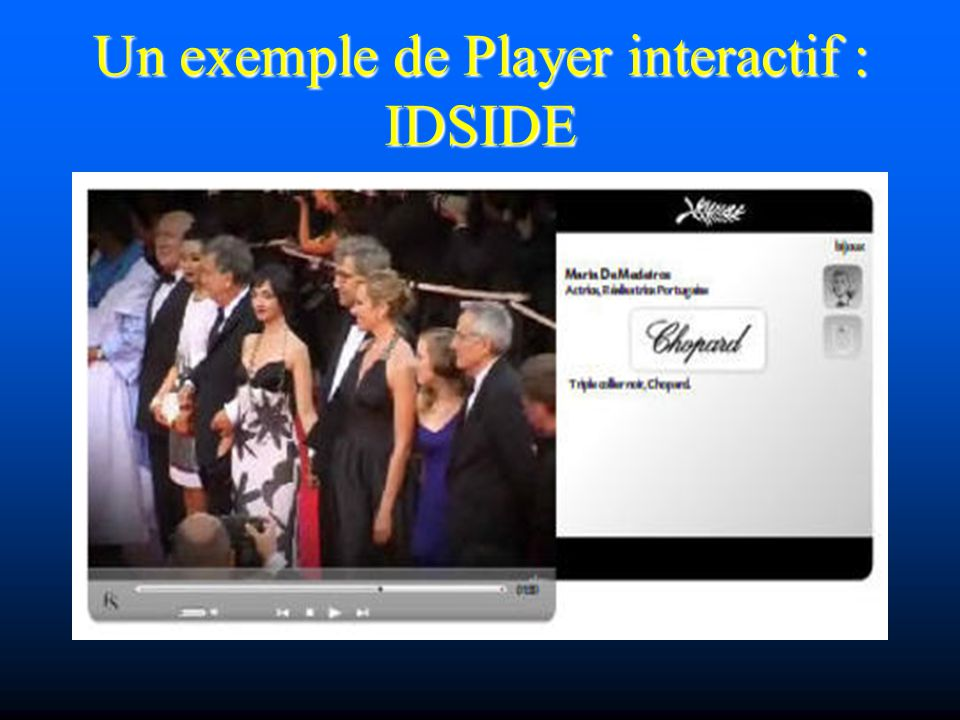 Un exemple de Player interactif : IDSIDE