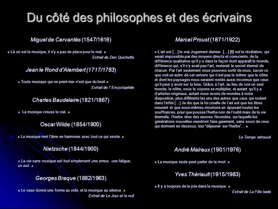 Du côté des écrivains et des compositeurs Françoise Giroud (1916/2003) « C est important, la musique...
