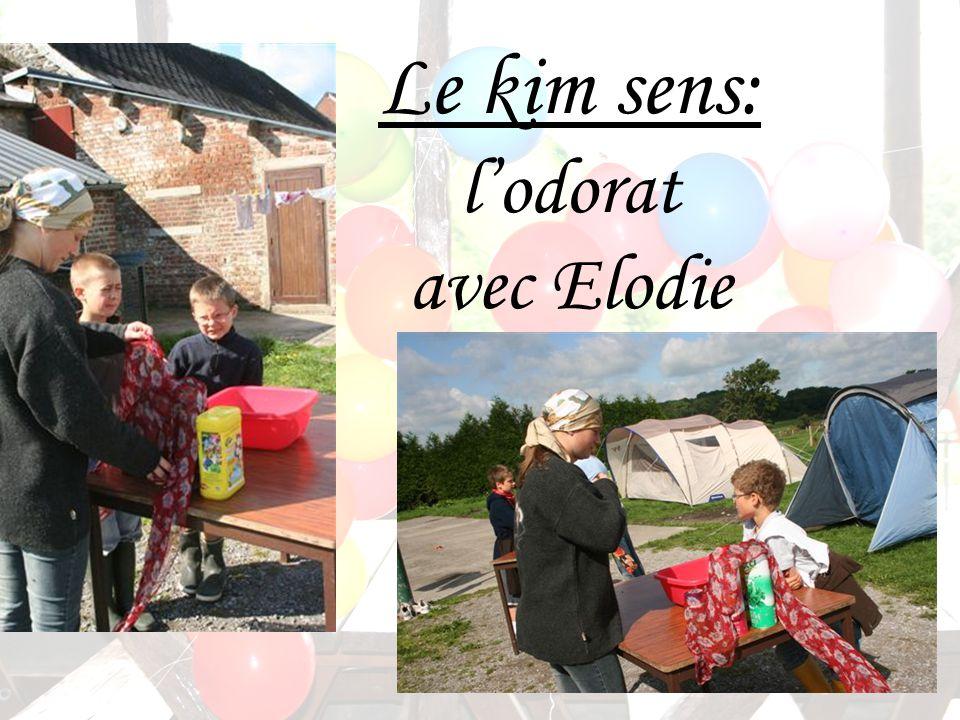 Le kim sens: lodorat avec Elodie
