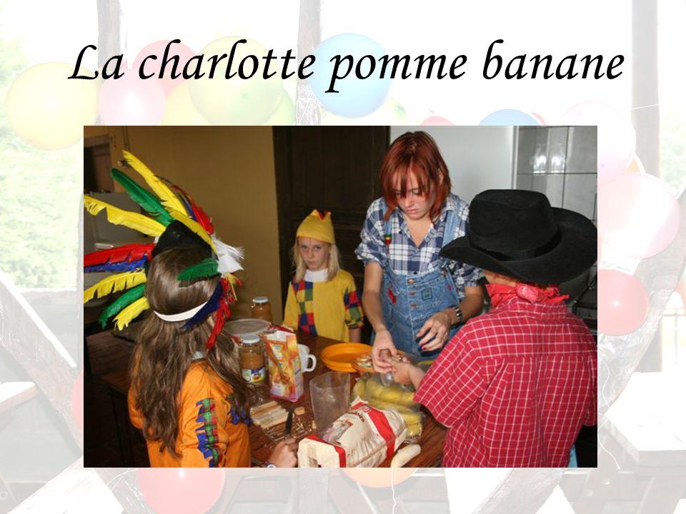 La charlotte pomme banane
