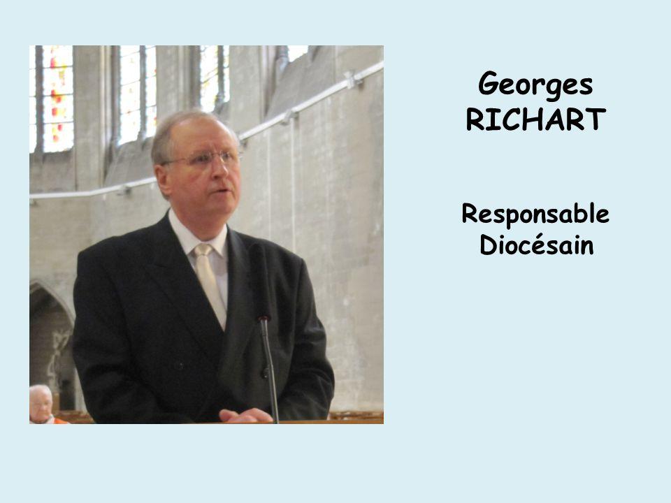 Georges RICHART Responsable Diocésain