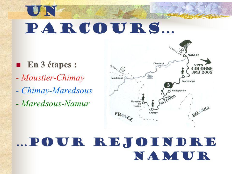 La Route Melchior Du lundi 8 août 2005 au mercredi 10 août…