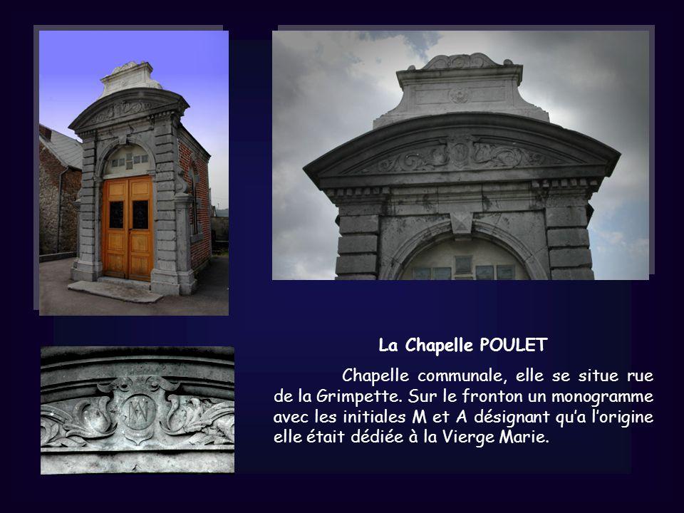 La Chapelle POULET Chapelle communale, elle se situe rue de la Grimpette.
