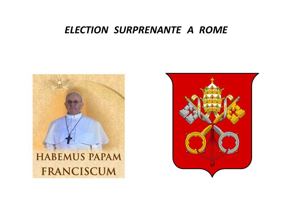 ELECTION SURPRENANTE A ROME