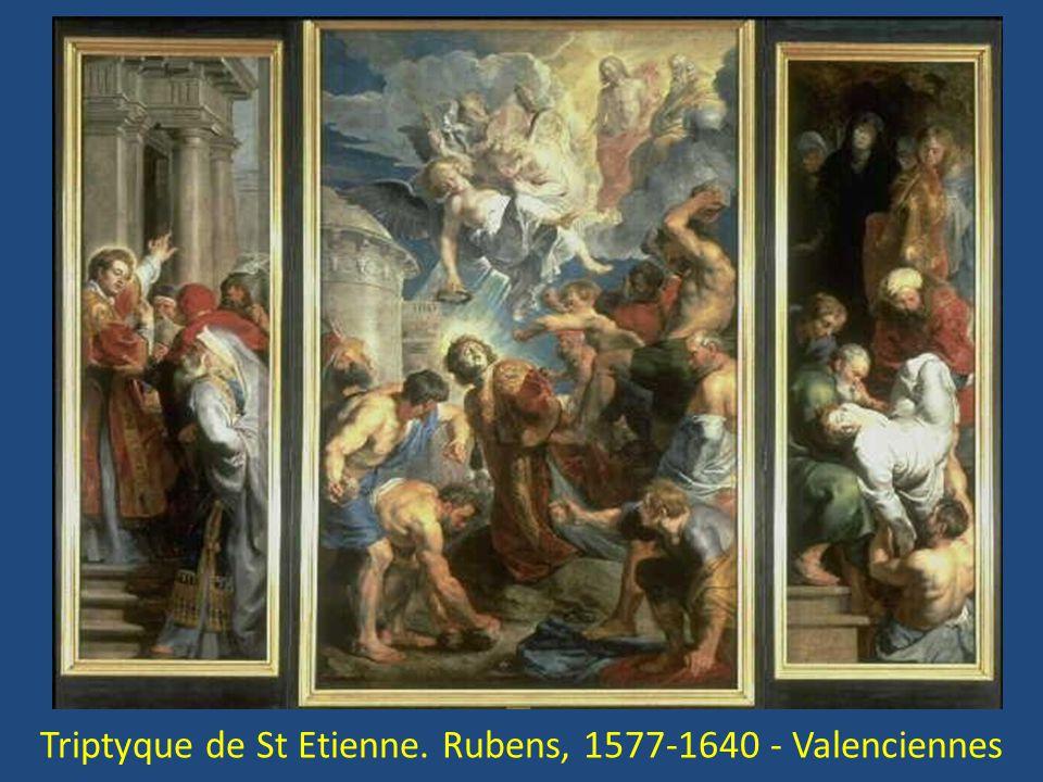 Triptyque de St Etienne. Rubens, 1577-1640 - Valenciennes