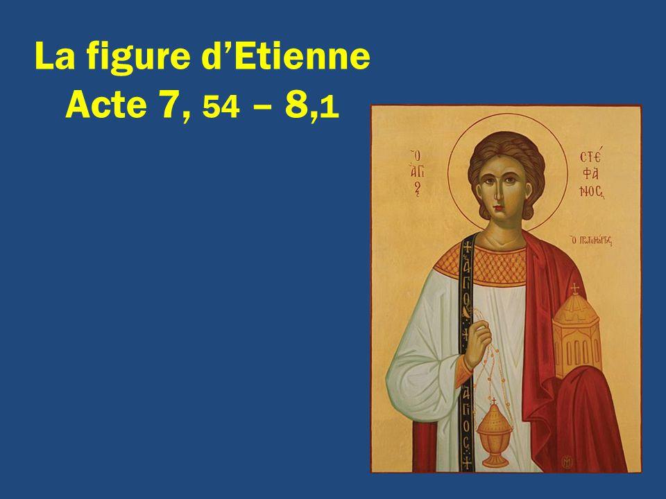 La figure dEtienne Acte 7, 54 – 8, 1