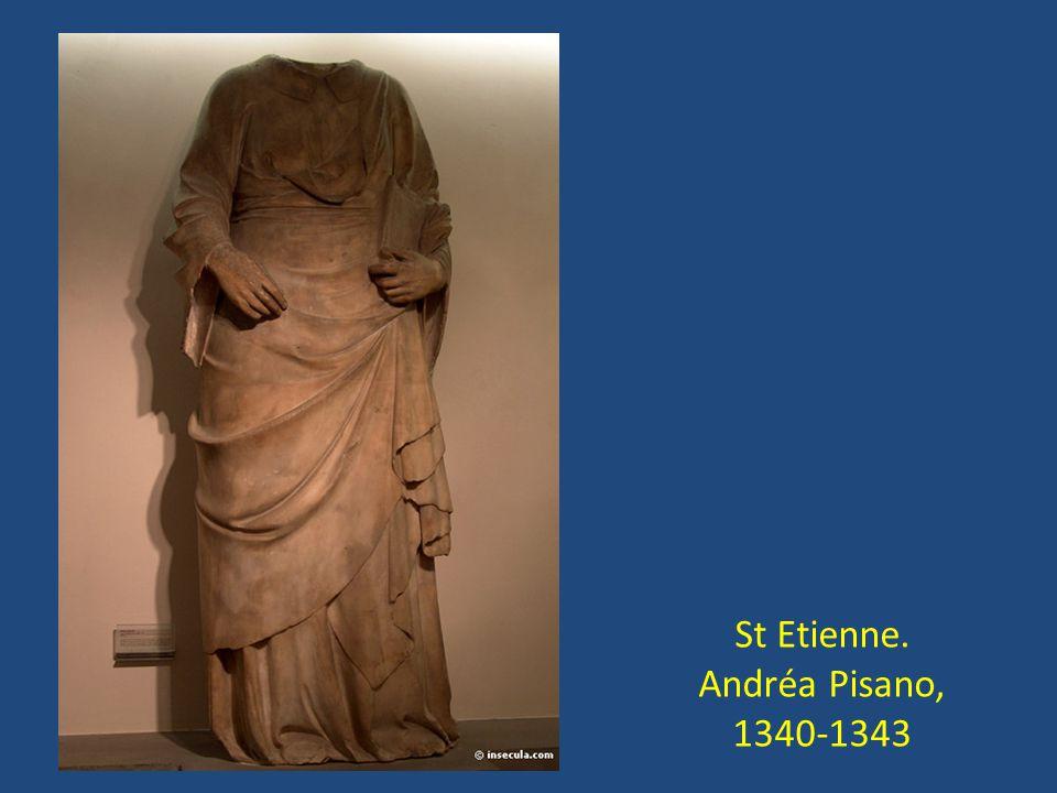 St Etienne. Andréa Pisano, 1340-1343