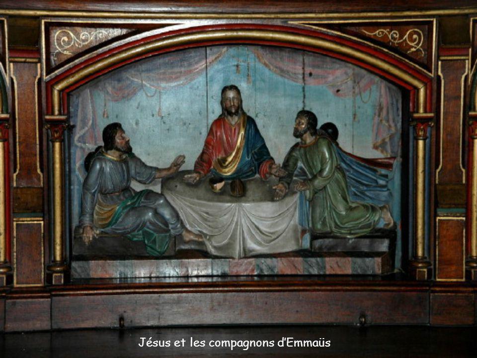 Jésus et les compagnons dEmmaüs
