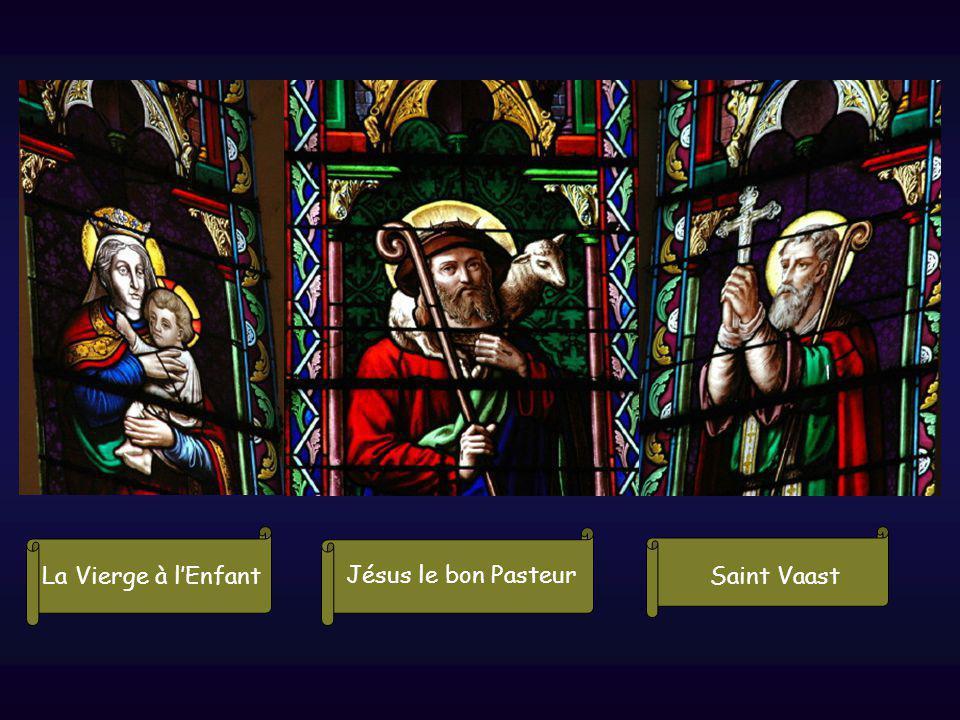 La Vierge à lEnfant Jésus le bon Pasteur Saint Vaast