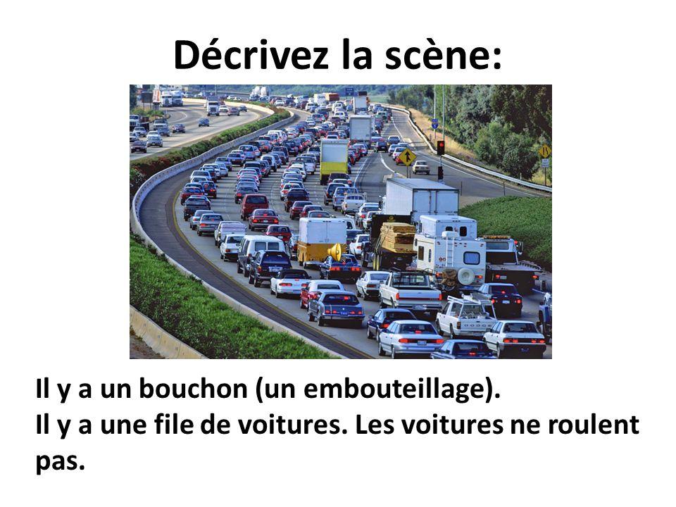 Expliquez ce panneau: Les camions ne peuvent pas doubler (changer de voie).