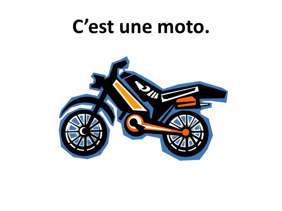 Cest une moto.