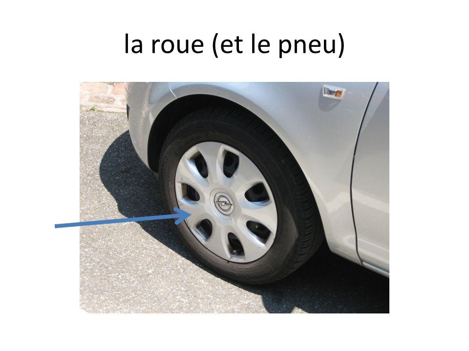 la roue (et le pneu)