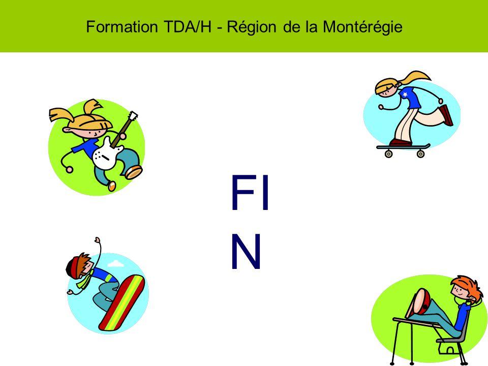 Formation TDA/H - Région de la Montérégie FI N
