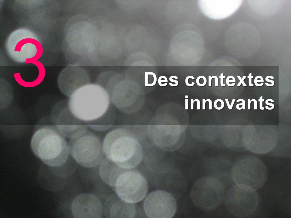 Des contextes innovants 3