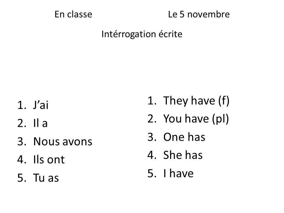 Time phrases for Past Tense Hier (ee-air) Le weekend dernier Le samedi dernier Le mois dernier En décembre La semaine dernière Lannée dernière Cétait Il y avait Yesterday Last weekend Last Saturday Last month In December Last week Last year It was There was / were