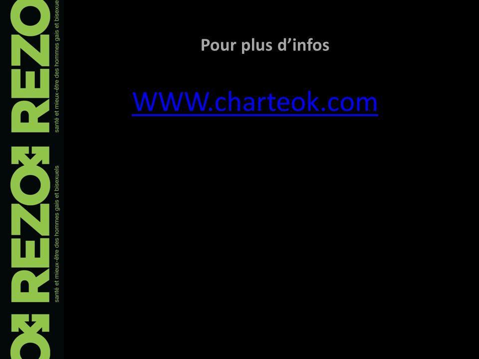 Pour plus dinfos WWW.charteok.com